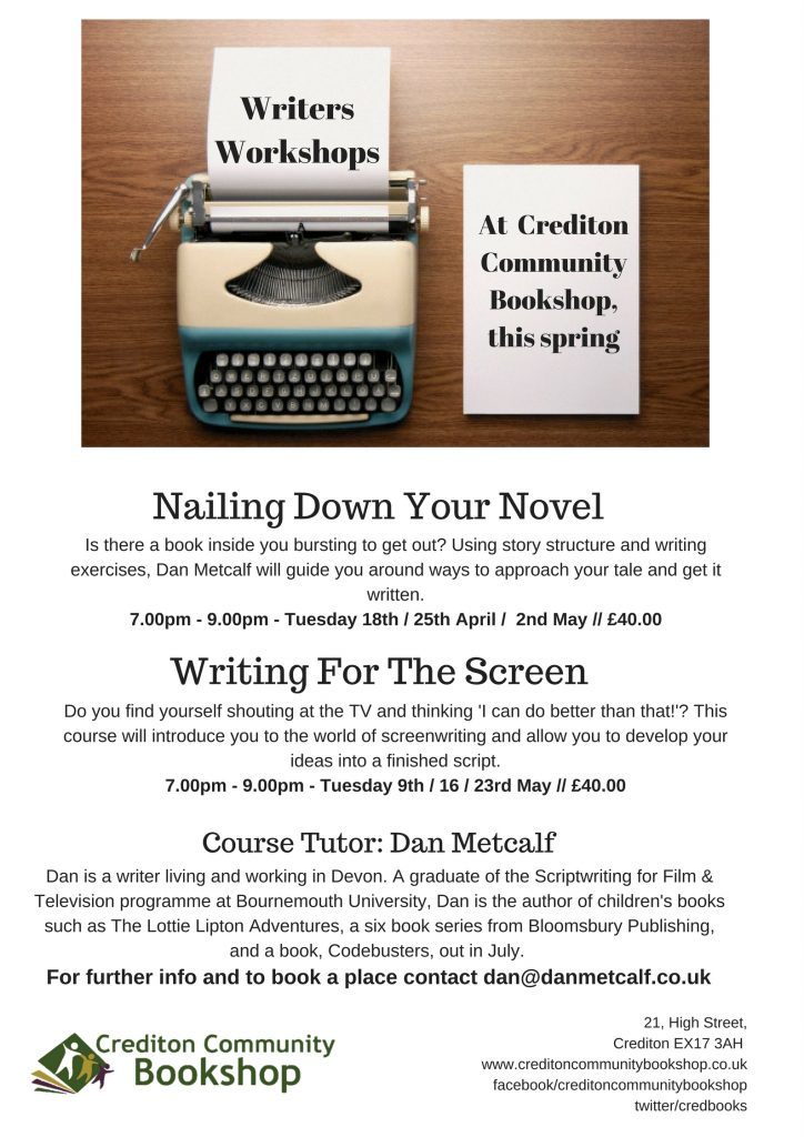 Creative Writing course details