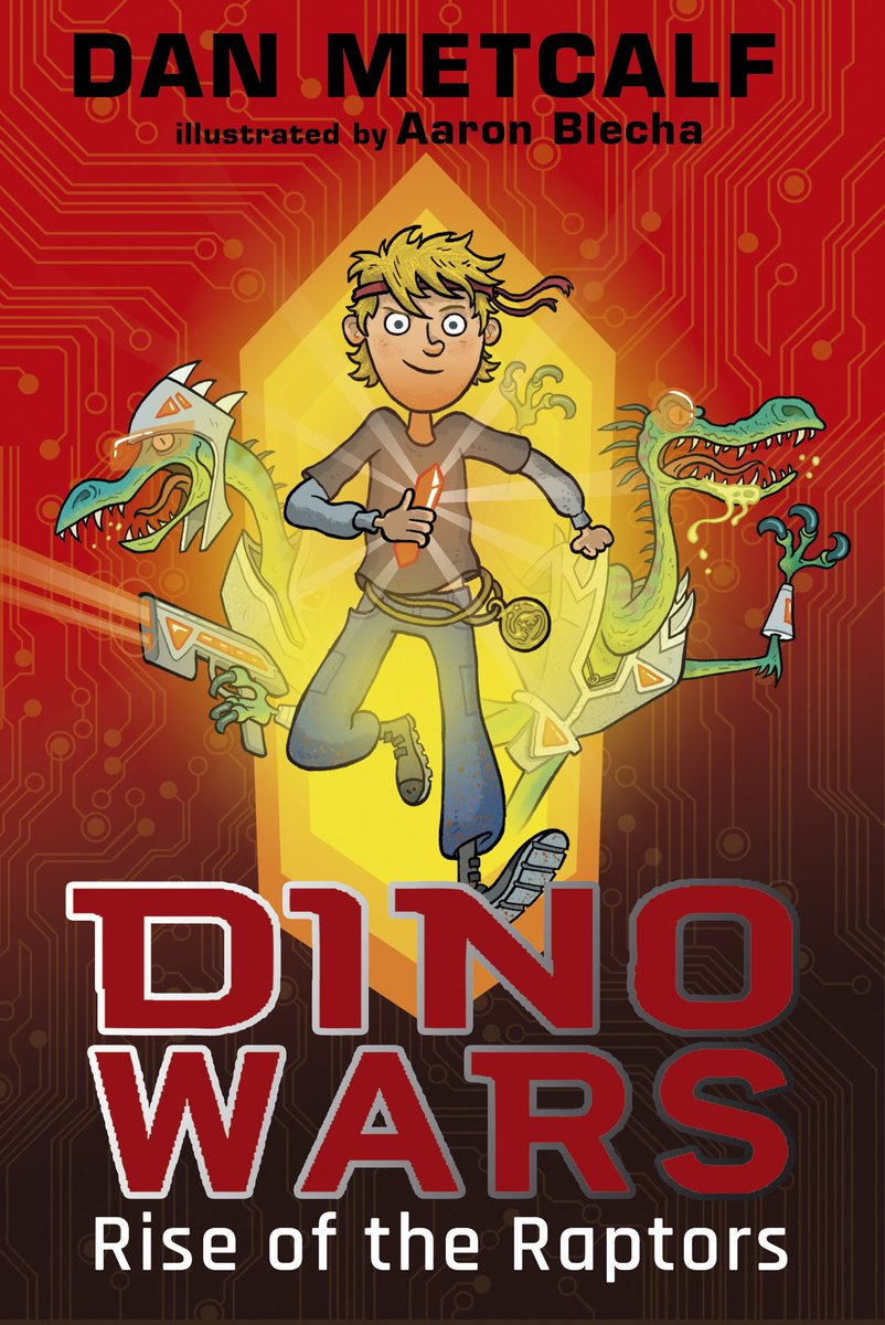 Dino Wars: Rise of the Raptors - Signed