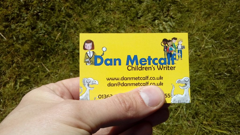 Dan Metcalf Business Card